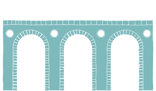 Site illustration aqueduct